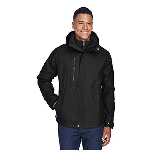 Ash City - North End Mens Caprice 3 in 1 Jacket with Soft Shell Liner
