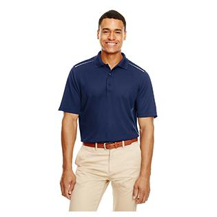 Ash City - Core 365 Mens Radiant Performance Piqu Polo with Reflective Piping