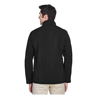 Ash City - Core 365 Mens Tall Cruise Two Layer Fleece Bonded Soft Shell Jacket