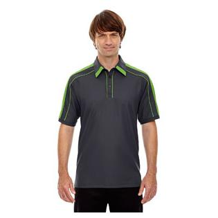 Ash City - North End Sport Red Mens Sonic Performance Polyester Piqu Polo