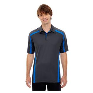 Ash City - North End Sport Red Mens Accelerate UTK Cool.Logik Performance Polo