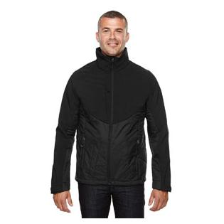 Ash City - North End Sport Red Mens Innovate Insulated Hybrid Soft Shell Jacket