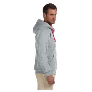Jerzees Adult 8 oz. NuBlend Contrast Full Zip Hood