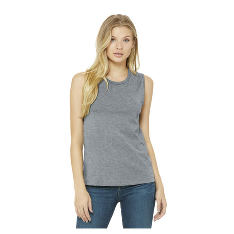 Bella + Canvas Ladies Jersey Muscle Tank