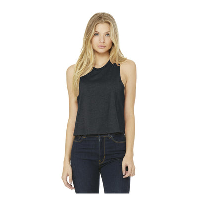 Bella + Canvas Ladies Racerback Cropped Tank