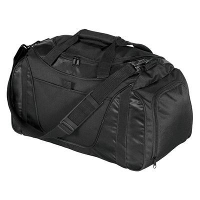Port Authority Royal/Black  Small Two Tone Duffel