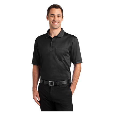CornerStone Select Snag Proof Tipped Pocket Polo