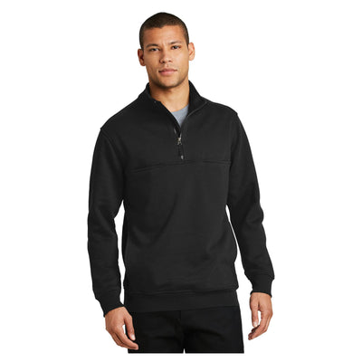 CornerStone 1/2 Zip Job Shirt
