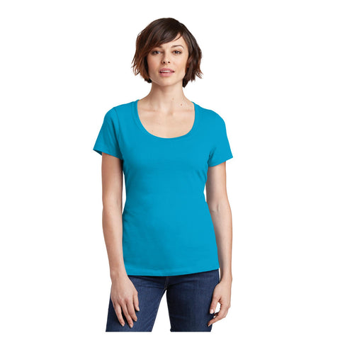 District Ladies Perfect Weight Scoop Tee