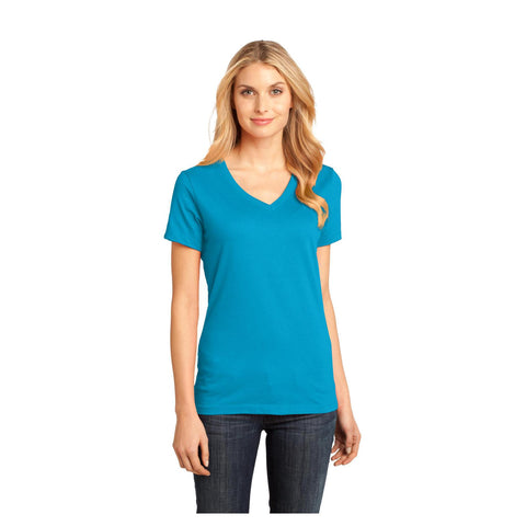 District Ladies Perfect Weight V Neck T-Shirt