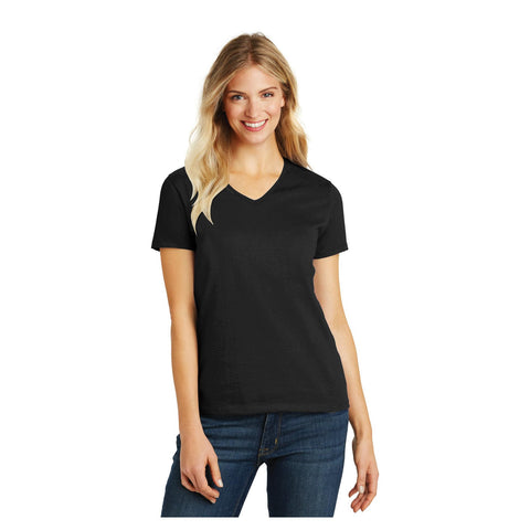 District Ladies Perfect Blend V Neck T-Shirt