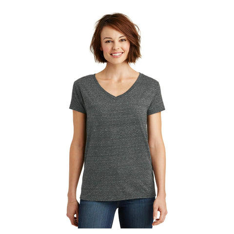 District Ladies Cosmic Relaxed V Neck Tee