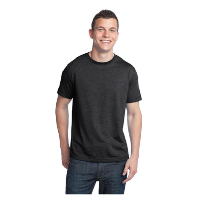 District Young Mens Tri Blend Crewneck T-Shirt
