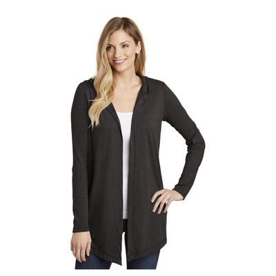 District Womens Perfect Tri Hooded Cardigan