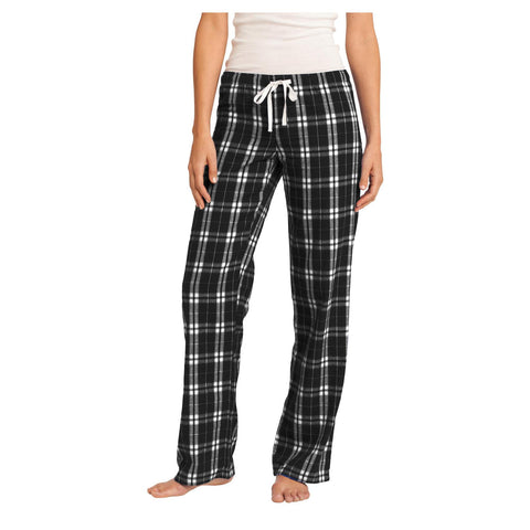 District Women's Flannel Plaid Pant