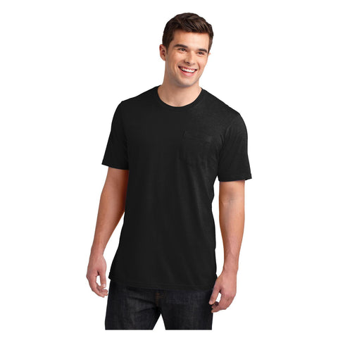 District Young Mens Very Important T-Shirt with Pocket