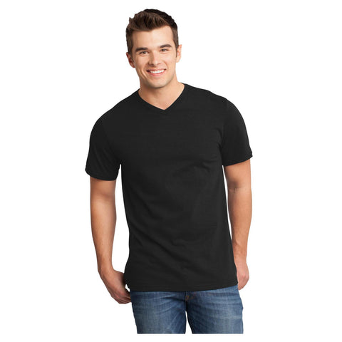 District Young Mens Very Important T-Shirt V Neck