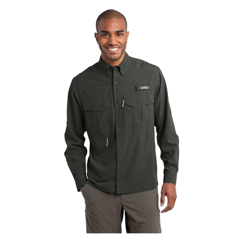 Eddie Bauer Long Sleeve Performance Fishing Shirt