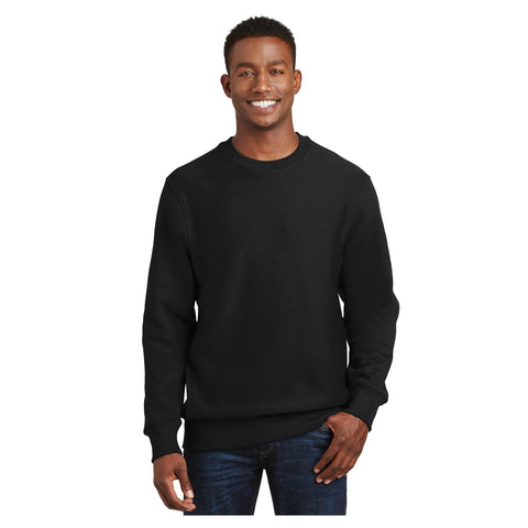 Sport-Tek Graphite Heather  Super Heavyweight Crewneck Sweatshirt