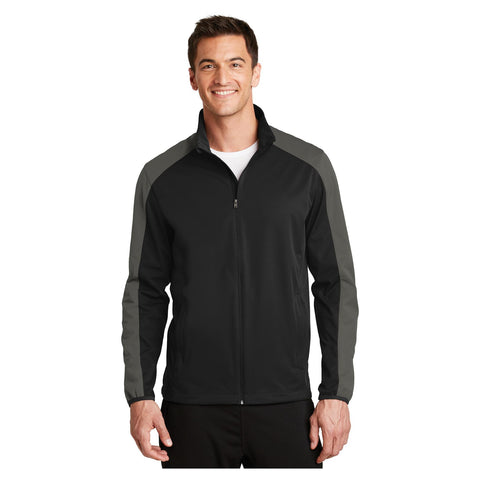 Port Authority Active Colorblock Soft Shell Jacket