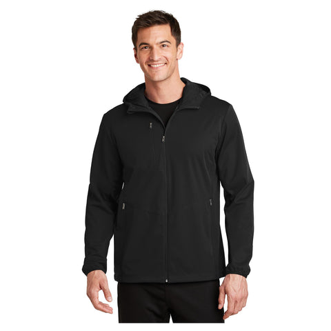 Port Authority Active Hooded Soft Shell Jacket