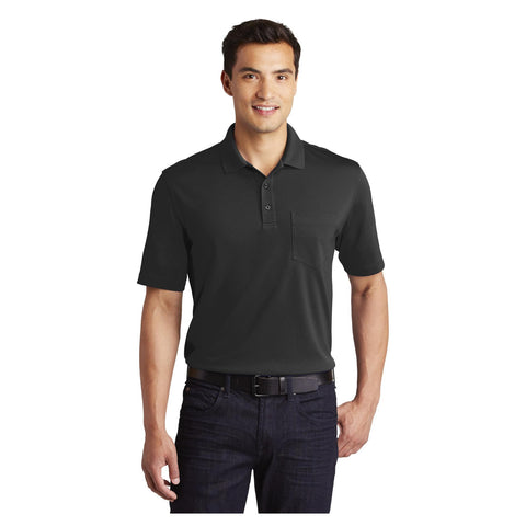 Port Authority Dry Zone UV Micro Mesh Pocket Polo