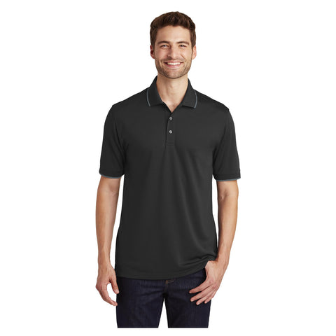 Port Authority Dry Zone UV Micro Mesh Tipped Polo