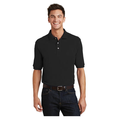 Port Authority Heavyweight Cotton Pique Polo with Pocket