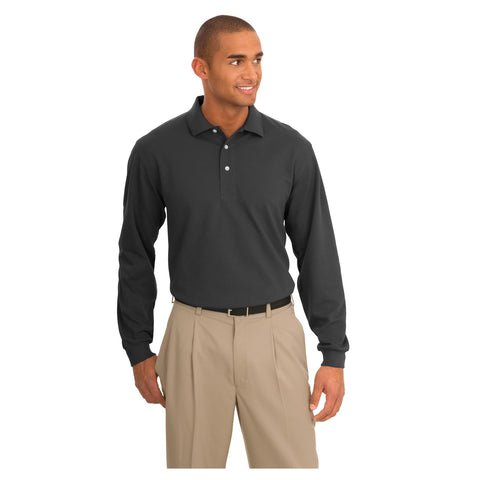 Port Authority Rapid Dry Long Sleeve Polo