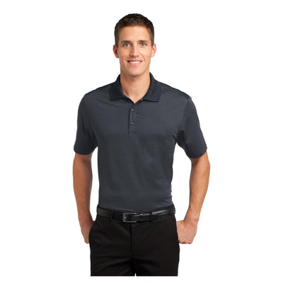 Port Authority Fine Stripe Performance Polo