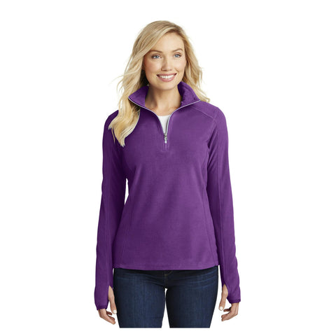 Port Authority Ladies Microfleece 1/2 Zip Pullover