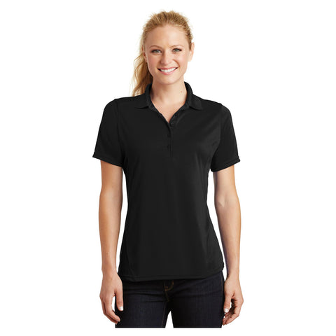 Sport-Tek Ladies Dry Zone Raglan Accent Polo