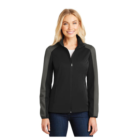 Port Authority Ladies Active Colorblock Soft Shell Jacket