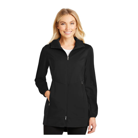 Port Authority Ladies Active Hooded Soft Shell Jacket