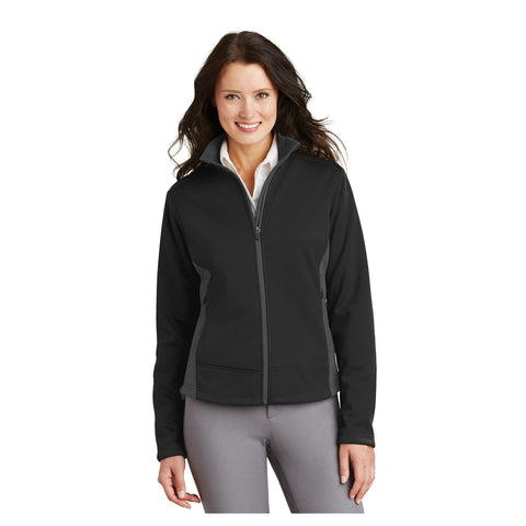 Port Authority Ladies Two Tone Soft Shell Jacket