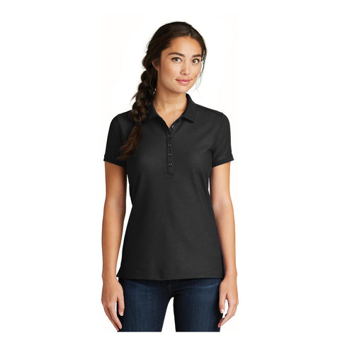 New Era Ladies Venue Home Plate Polo