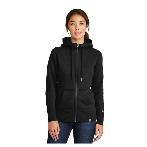 New Era Ladies French Terry Full Zip Hoodie