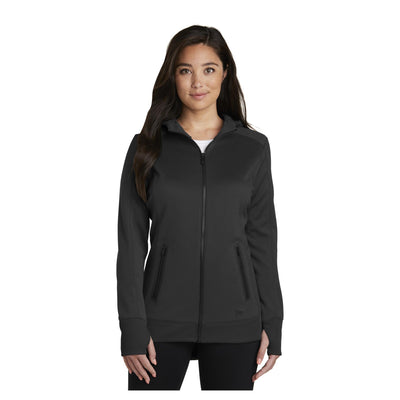 New Era Ladies Venue Fleece Full Zip Hoodie