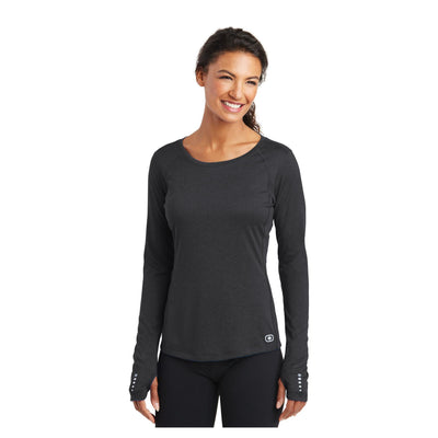 OGIO ENDURANCE Ladies Long Sleeve Pulse Crew