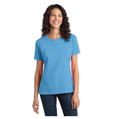 Port & Company Ladies Ring Spun Cotton Tee