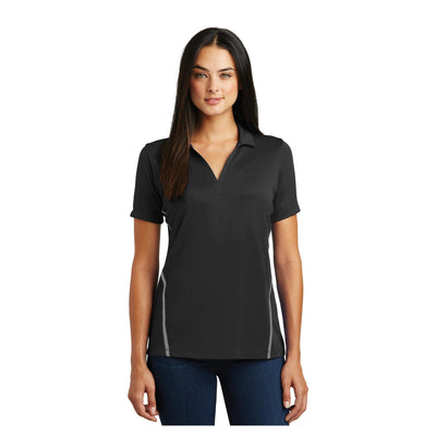 Sport-Tek Ladies Contrast PosiCharge Tough Polo