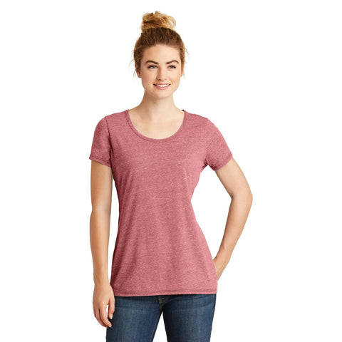 New Era Ladies Tri Blend Performance Scoop Tee