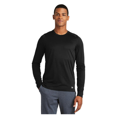 New Era Series Performance Long Sleeve Crew Tee