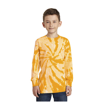 Port & Company Youth Tie Dye Long Sleeve Tee