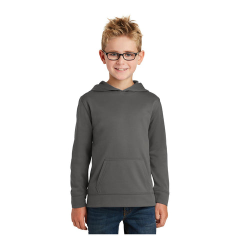 Port & Company Youth Performance Fleece Pullover Hooded Sweatshirt