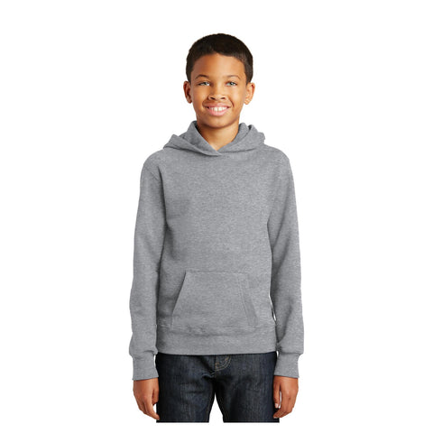 Port & Company Youth Fan Favorite Fleece Pullover Hooded Sweatshirt