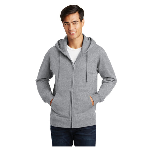 Port & Company Fan Favorite Fleece Full Zip Hooded Sweatshirt