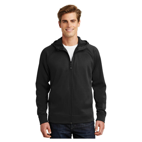 Sport-Tek Rival Tech Fleece Full Zip Hooded Jacket