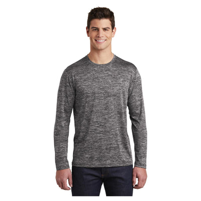 Sport-Tek PosiCharge Long Sleeve Electric Heather Tee
