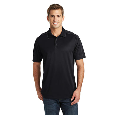 Sport-Tek Micropique Sport Wick Piped Polo